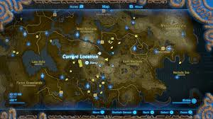 The Rift Ce Treasure Map Zelda Breath Of The Wild Toto Sah Shrine Location And Puzzle