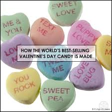 s day candy hearts how necco sweethearts conversation hearts are made