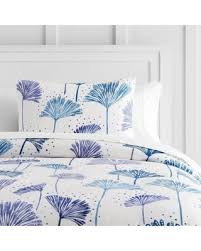 bargains 55 off pb teen organic dandelion duvet cover twin indigo