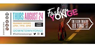 fashion on yonge elgin and winter garden theatre centre toronto