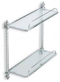 Bathroom Chrome Shelves Fresh Decoration 18 Present Photos Of Chrome Bathroom Shelves