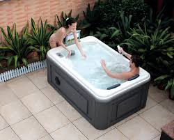 Jet Tub Hs Spa291 Jet Tub With Massag Outdoor Mini Rectangular 2