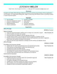 Example Resume For Administrative Assistant by Cover Letter For Resume Admin Assistant Professional Resumes