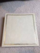 photo album refills 3 ring vintage self adhesive photo album ebay