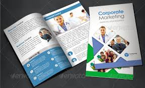 corporate bi fold brochure template printable bi fold brochure