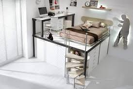 Pictures Of Bunk Beds With Desk Underneath Bedroom Excellent Loft Beds With Desks Underneath Picture Of New