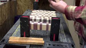 how to make and end grain chopping block youtube