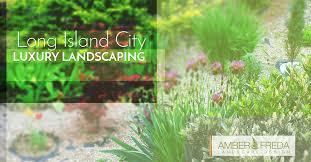 Flowers Long Island City - long island city luxury landscaping design amber freda