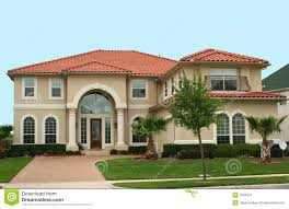 mediterranean style home mediterranean style home stock image image of real blue 2304901