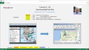 Map Point Tutorial Mappoint To Maptitude Youtube