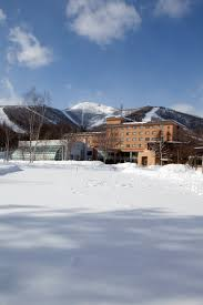 located at the foot of the ski slopes club med hokkaido is home