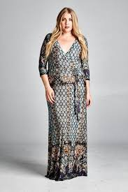 fabulous quality plus size diamond maxi dress will make you shine