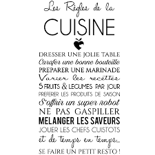 proverbe cuisine sticker citation les règles de la cuisine stickers citations