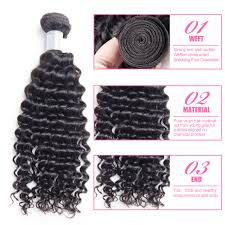Pure Virgin Hair Extensions by Aliexpress Com Buy Ms Here Raw Indian Deep Curly Virgin Hair 4