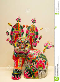asian china clay sculpture toys ornaments stock photo image