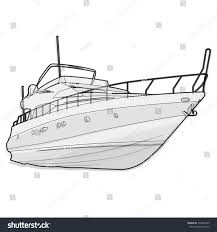 nice wire black white boat on stock vector 374933539 shutterstock