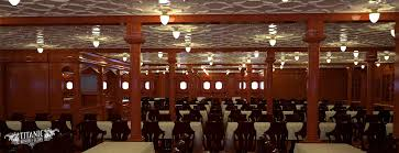 titanic first class dining room titanic s second class dining saloon by titanichonorandglory on