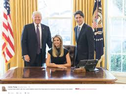 ivanka trump comes under fire for twitter photo showing her seated