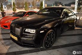 rolls royce wraith black badge 26 january 2017 autogespot