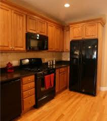 kitchen color ideas with oak cabinets and black appliances 60 beautiful kitchens ideas with black granite roundecor
