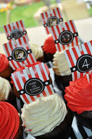 Boy Birthday Decorations Pirate Party Mast Cupcake Toppers Boys Pirate Birthday Party