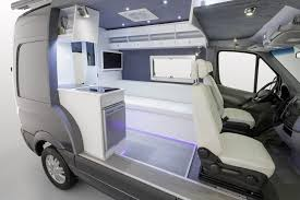 camper van layout sprinter rv mercedes brings its own sprinter camper van to 2013