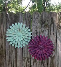 Outdoor Fence Decor