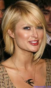 hair styles in paris paris hilton long assymetrical bob celebrity hairstyles for