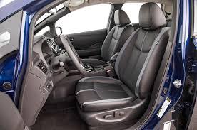 nissan leaf 2017 interior nissan leaf 2018 motor trend car of the year contender motor trend