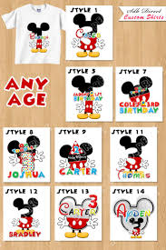 11 best mickey mouse and minnie mouse custom shirts images on