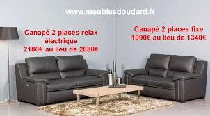 discount canapé canapé cuir relax électrique à prix discount meubles en bois