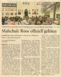 Finanzamt Bad Neuenahr Ahrweiler Malschule Roos Homepage