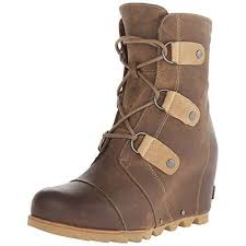 womens boots size 11 and up sorel joan of arctic wedge mid cafe womens boots size 11 lace up