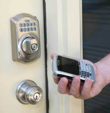 Interior Keyless Door Locks Unlock And Lock Your Front Door From Your Cell Phone Inside