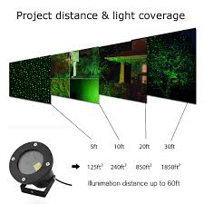 Outdoor Laser Projector Christmas Lights by Led Fairy Laser Projector Light Landscape Garden Outdoor Show Xmas