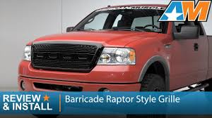 ford raptor grill for 2007 f150 2004 2008 f 150 barricade raptor style grille black review