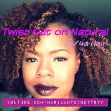 how to get 3c hair twist out on natural 3c 4a hair youtube