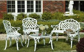 white iron patio furniture info home and furniture decoration