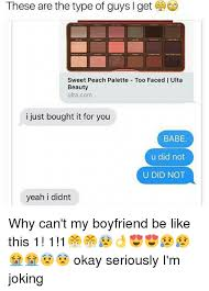 Sweet Memes For Boyfriend - 25 best memes about ulta beauty ulta beauty memes