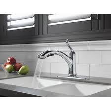 delta 4353 dst linden single handle pullout kitchen faucet