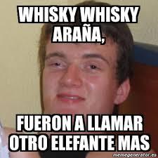 Whisky Meme - meme stoner stanley whisky whisky ara祓a fueron a llamar otro