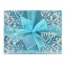 mint wrapping paper counter rolls gift wrap shop