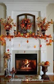 fall mantel inspiration done by adventures in decorating