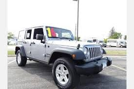 Black And Jeep Used Black Jeep Wrangler For Sale Edmunds