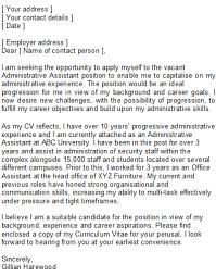 executive assistant cover letter sample template handsome
