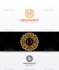 ornaments letters by durogerti graphicriver