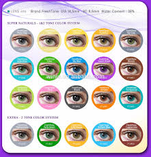 wholesale fresh tone natural look light hazel cheap colored