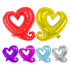 valentines balloons wholesale 25pcs lot new children s toys aluminum balloons birthday party