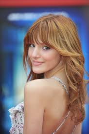 feathered back hairstyles for women bella thorne feathered back hair