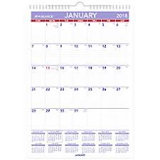 Flat Desk Calendar Calendars Monthly U0026 Yearly At Office Depot Officemax